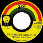 AFRICAN BROTHERS righteous kingdom / version